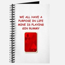gin rummy Journal