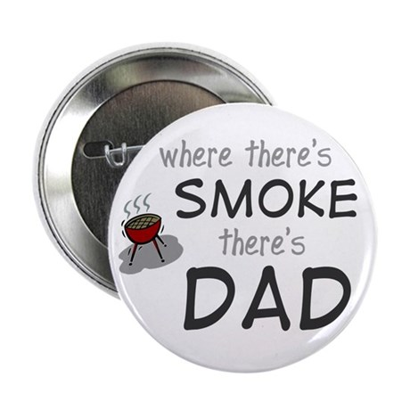 father's day gift smoke Button