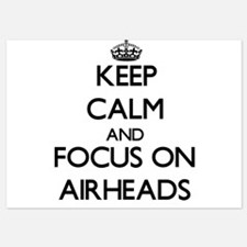 Keep Calm by focusing on Airheads Invitations