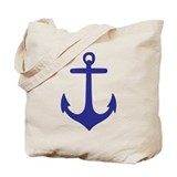 Nautical tote Totes & Shopping Bags