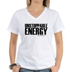 Unstoppable Energy Women's V-Neck T-Shirt