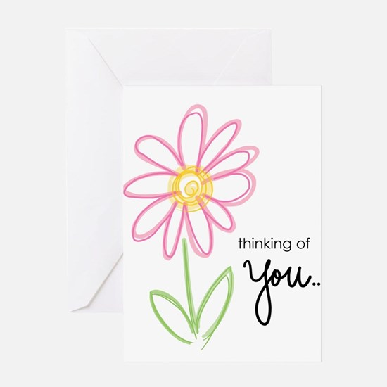 Thinking Of You Greeting Cards | CafePress