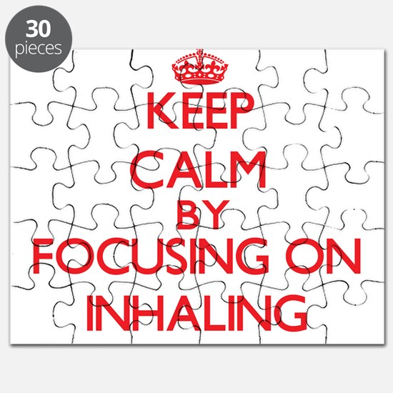 Keep Calm by focusing on Inhaling Puzzle