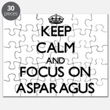 Keep Calm by focusing on Asparagus Puzzle