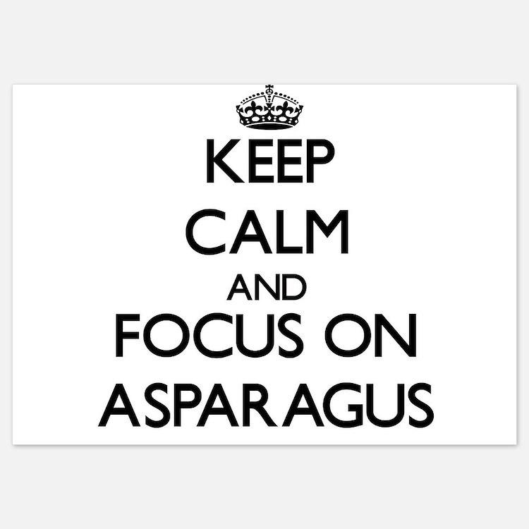 Keep Calm by focusing on Asparagus Invitations