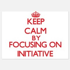 Keep Calm by focusing on Initiative Invitations