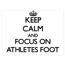 Keep Calm by focusing on Athletes Foot Invitations