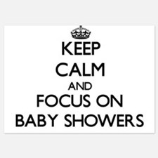 Keep Calm by focusing on Baby Showers Invitations