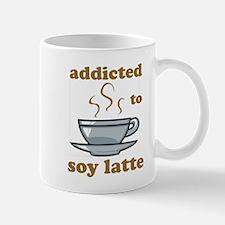 Addicted To Soy Latte Mug