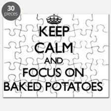 Keep Calm by focusing on Baked Potatoes Puzzle