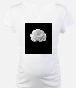 BLACK AND WHITE ROSE FLOWER Shirt