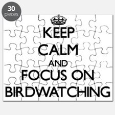 Keep Calm by focusing on Birdwatching Puzzle