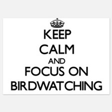 Keep Calm by focusing on Birdwatching Invitations