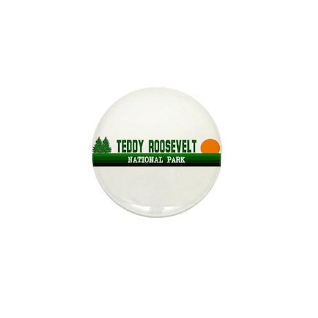 Teddy Roosevelt National Park Mini Button