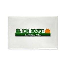 Teddy Roosevelt National Park Rectangle Magnet