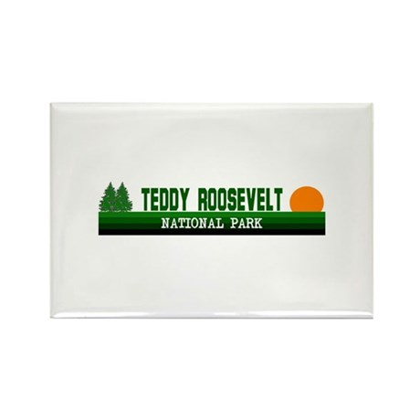 Teddy Roosevelt National Park Rectangle Magnet