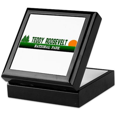 Teddy Roosevelt National Park Keepsake Box