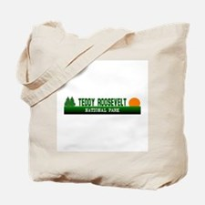 Teddy Roosevelt National Park Tote Bag