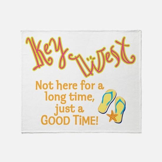 Key West - Throw Blanket
