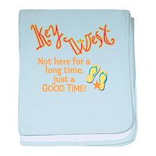 Key West - baby blanket