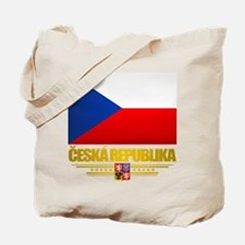 Czech Flag Tote Bag