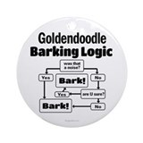Goldendoodles Round Ornaments