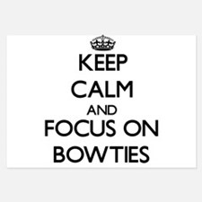 Keep Calm by focusing on Bowties Invitations