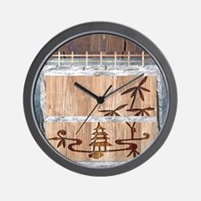 View of the Orient Wall Clock