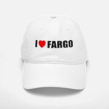 I Love Fargo Baseball Baseball Cap