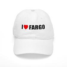 I Love Fargo Baseball Cap