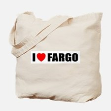 I Love Fargo Tote Bag