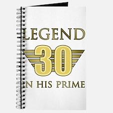 30th Birthday Legend Journal