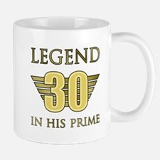 30th Birthday Legend Mugs