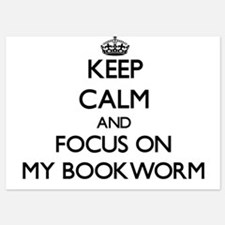 Keep Calm by focusing on My Bookworm Invitations