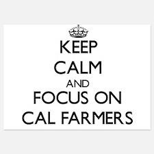 Keep Calm by focusing on Cal Farmers Invitations