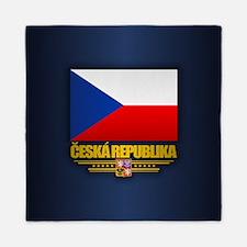 Czech Flag Queen Duvet