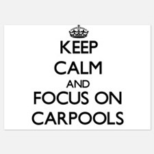Keep Calm by focusing on Carpools Invitations