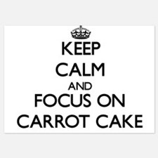 Keep Calm by focusing on Carrot Cake Invitations