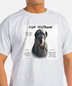 Grey Irish Wolfhound T-Shirt