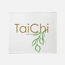 Tai Chi Growth 11 Throw Blanket