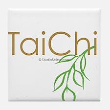 Tai Chi Growth 11 Tile Coaster