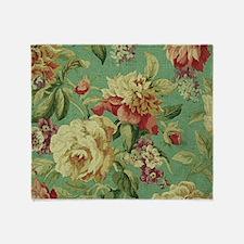 Unique Floral Throw Blanket