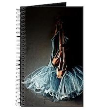 Dark Ballet Tutu Outfit with Worn Pointe S Journal