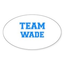 TEAM WADE Oval Decal