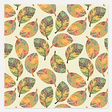 Autumn Leaves- Invitations