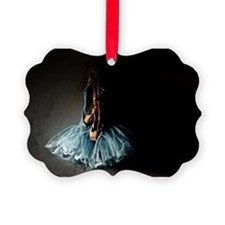 Dark Ballet Tutu Outfit with Worn Ornament