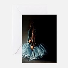 Dark Ballet Tutu Outfit with Worn P Greeting Cards