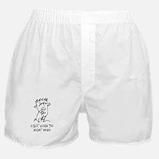 70th birthday nose picker Boxer Shorts