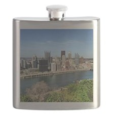 Mt. Washington view of Pittsburgh! Flask