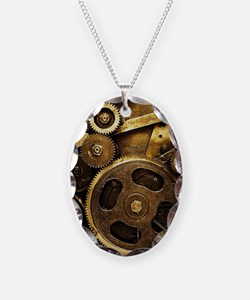 Mechanical Gears Necklace